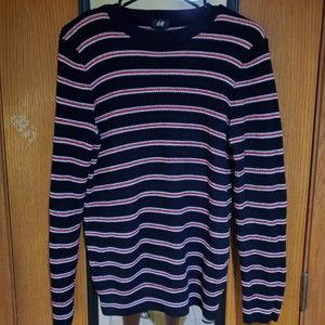 H&M striped long sleeve